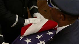 U.S. Air Force Honor Guard demonstrates the powerful moment