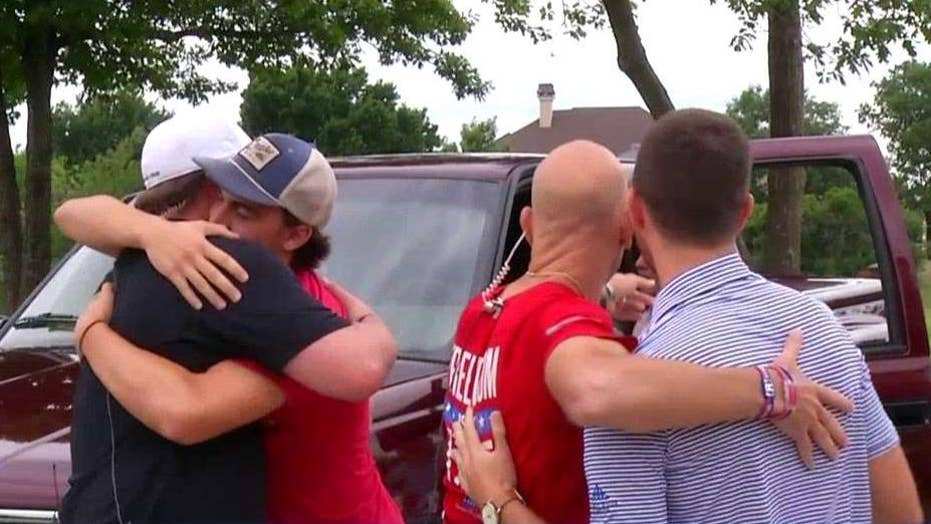 Fallen soldier's truck returned to his family