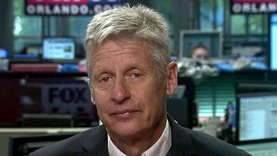Gary Johnson speaks out after winning Libertarian nomination
