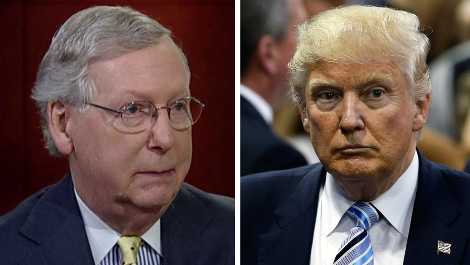 Sen. McConnell: Donald Trump won this the old fashioned way
