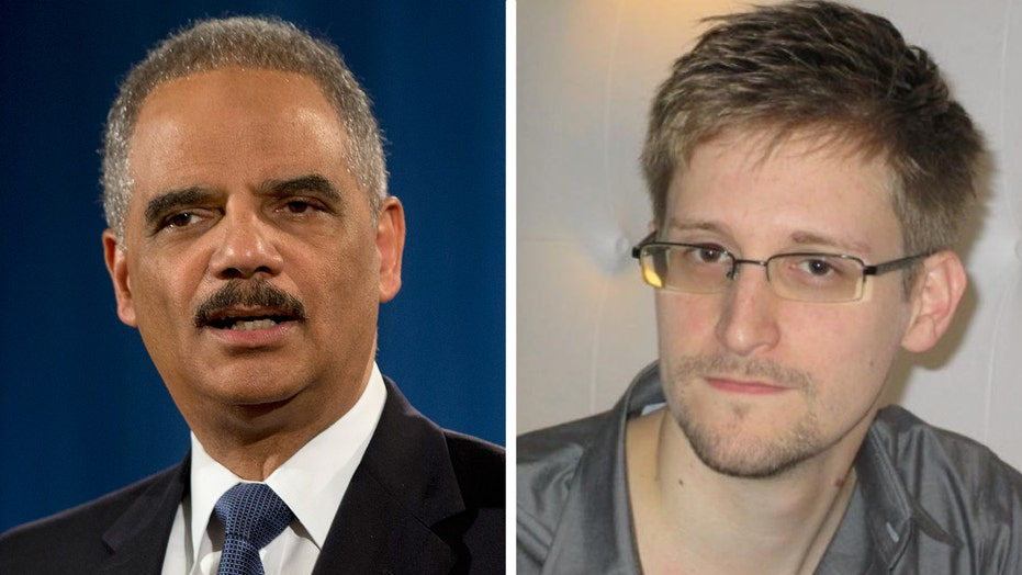 Eric Holder says Edward Snowden performed a 'public service'
