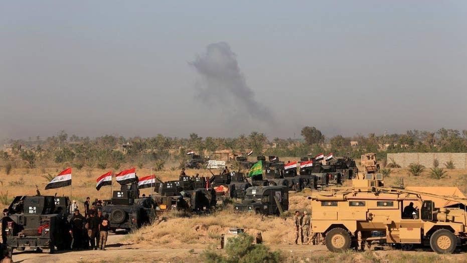 Iraqi forces push into Fallujah