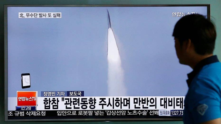 Pentagon confirms North Korea's latest missile launch failed