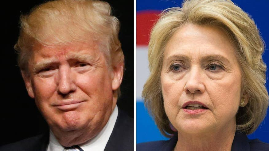 New poll finds voters feel that Trump would better handle ISIS, but favor Clinton in an international crisis. Voters also believe Clinton is better prepared to be president, but that Trump is a better leader. Karl Rove goes 'On the Record' to examine