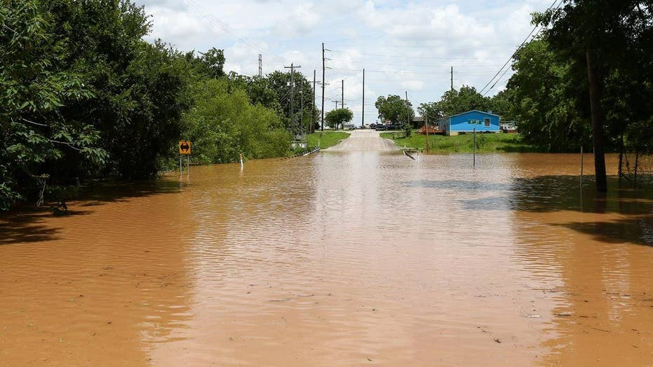 More rain expected in severely flooded parts of Texas