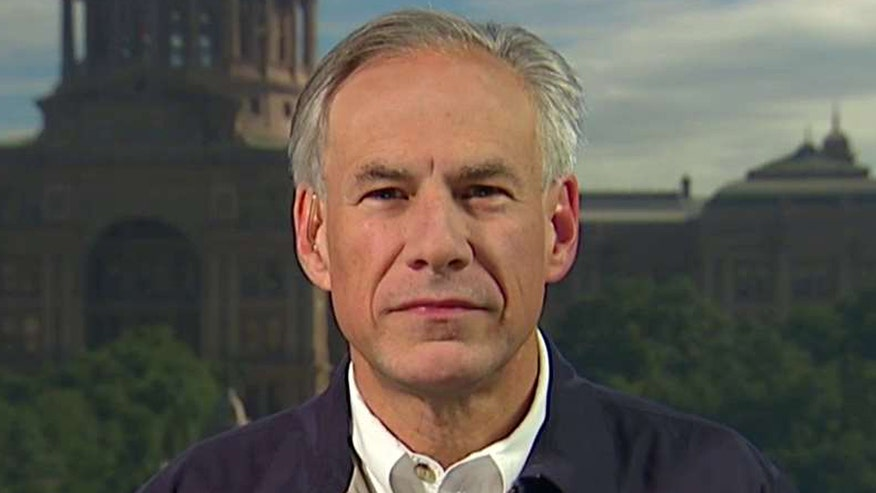 Gov. Greg Abbott weighs in on Army vehicle being swept away in floodwaters
