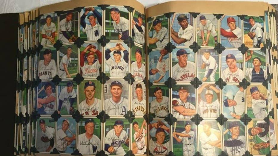 Massive trove of baseball cards surfaces in Texas