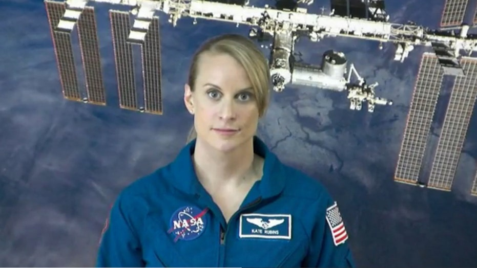 Microbiologist Kate Rubins heads to space