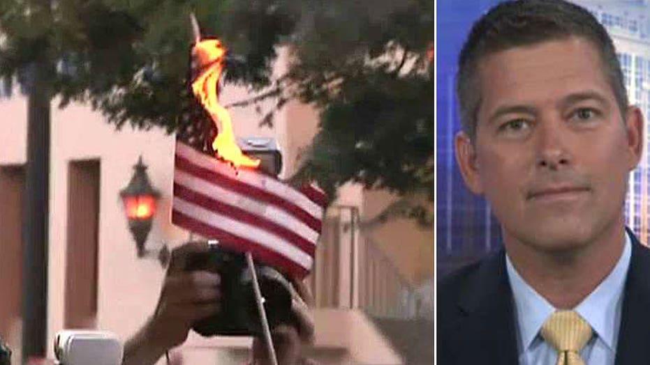Rep. Sean Duffy slams the violence at Trump rallies