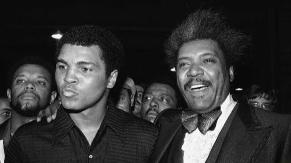 Don King pays tribute to Muhammad Ali