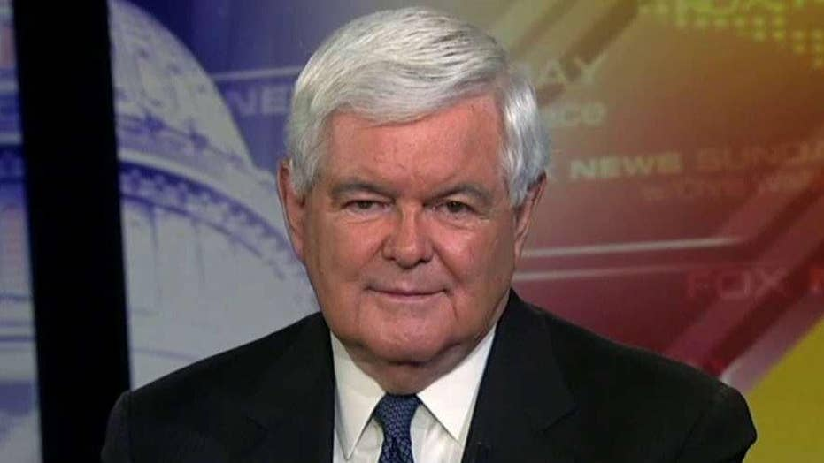 Newt Gingrich calls Trump's attacks on judge 'inexcusable'