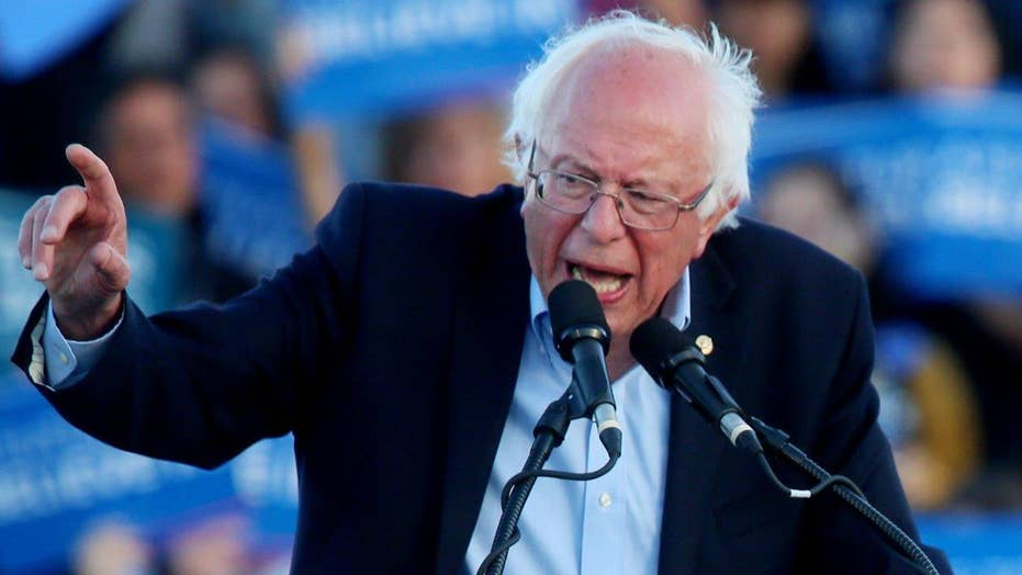 What will Sanders do if Clinton clinches race in New Jersey?