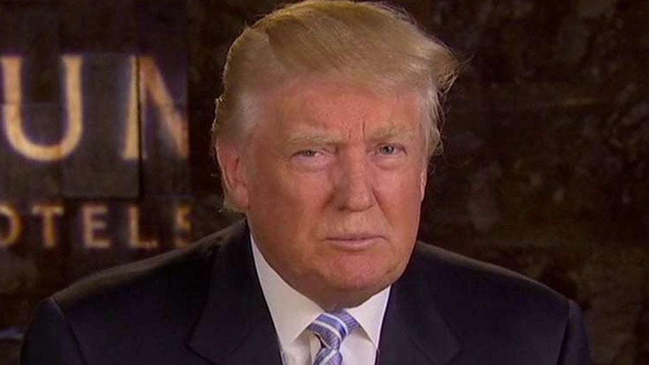 Donald Trump on judge comments