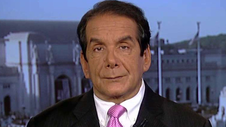 Charles Krauthammer said the historical factor regarding Hillary Clinton finally clinching the Democratic nomination for president is 'very much minimized and muted.'