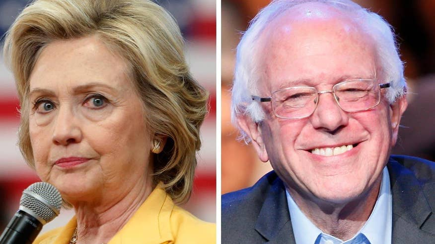 Bernie Sanders campaign crying foul over AP declaring Clinton the winner ahead of Tuesday's primaries, perhaps fueling supporter suspicion that media and the system are rigged. Karl Rove goes 'On the Record' to sound off
