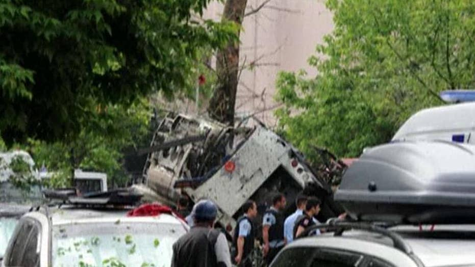 11 police officers killed in Istanbul car bombing