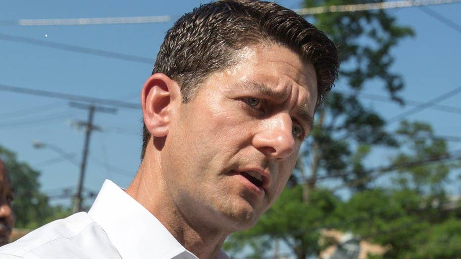 Ryan disavows Trump's racially charged comments on judge