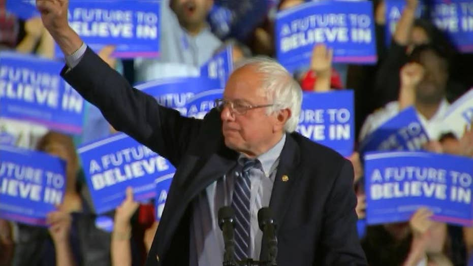 Sanders vows to continue campaign: The struggle continues