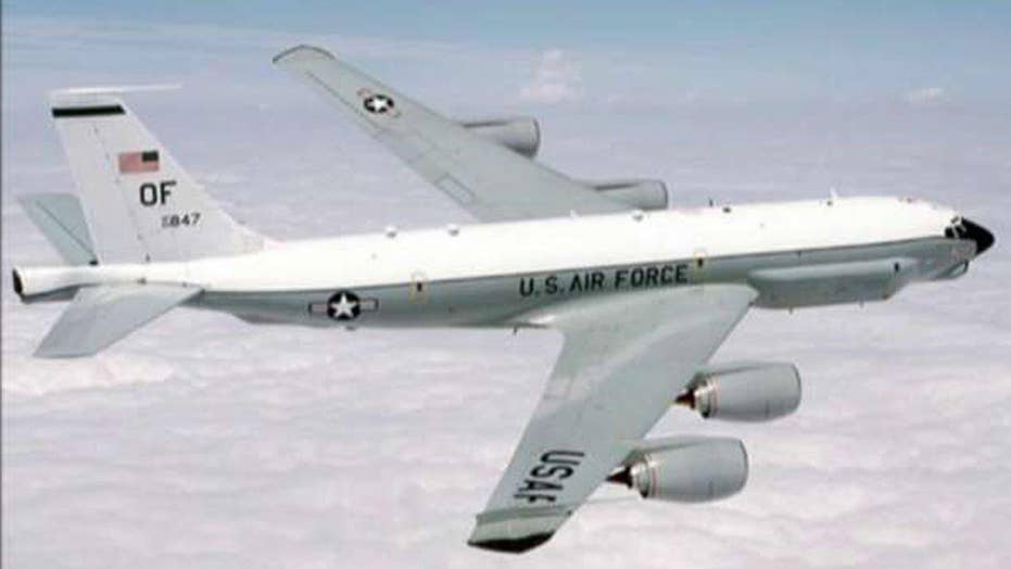 Chinese fighter jet intercepts US plane