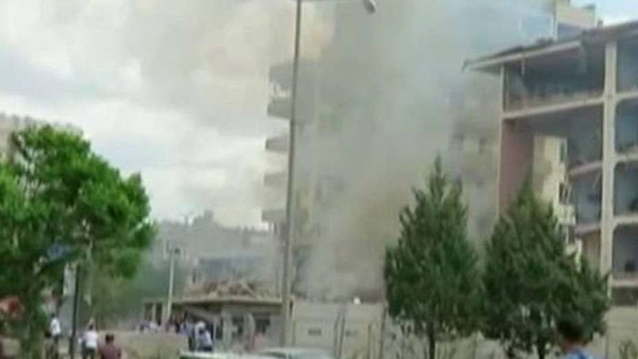 Kurds blamed for deadly car bombing targeting police