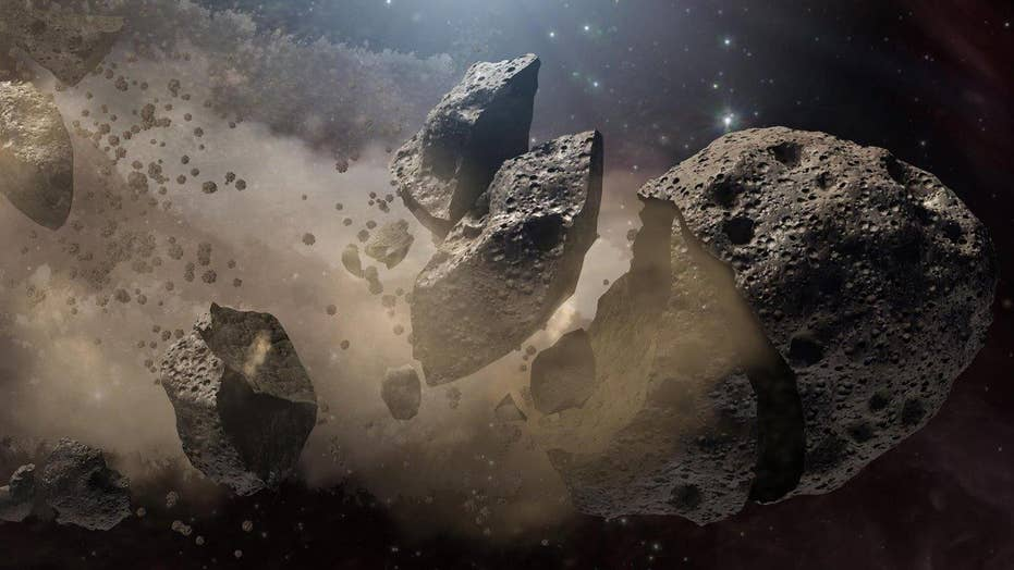 NASA to turn asteroids into spaceships?