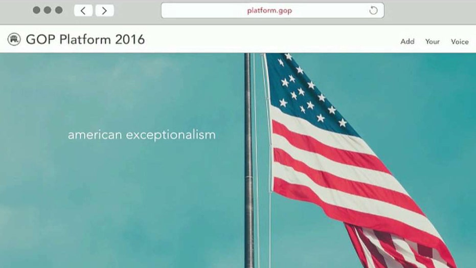RNC to launch interactive website to develop party platform