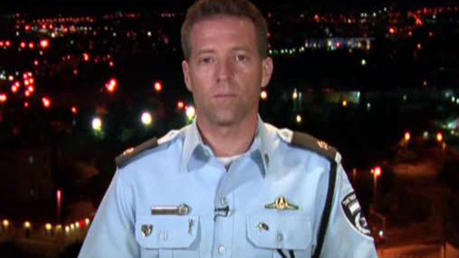 Israeli police spokesman speaks out after attack