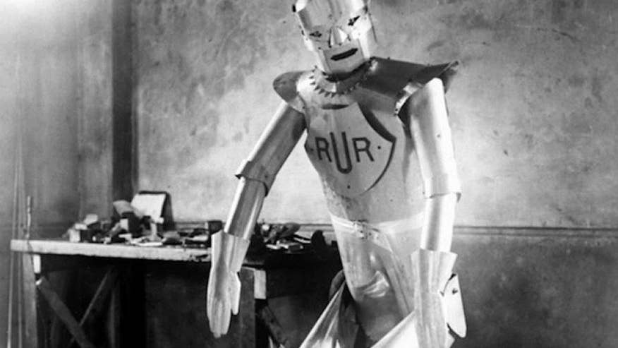 Features & Faces: Eric the Robot was first unveiled in 1928, so he needs a little work