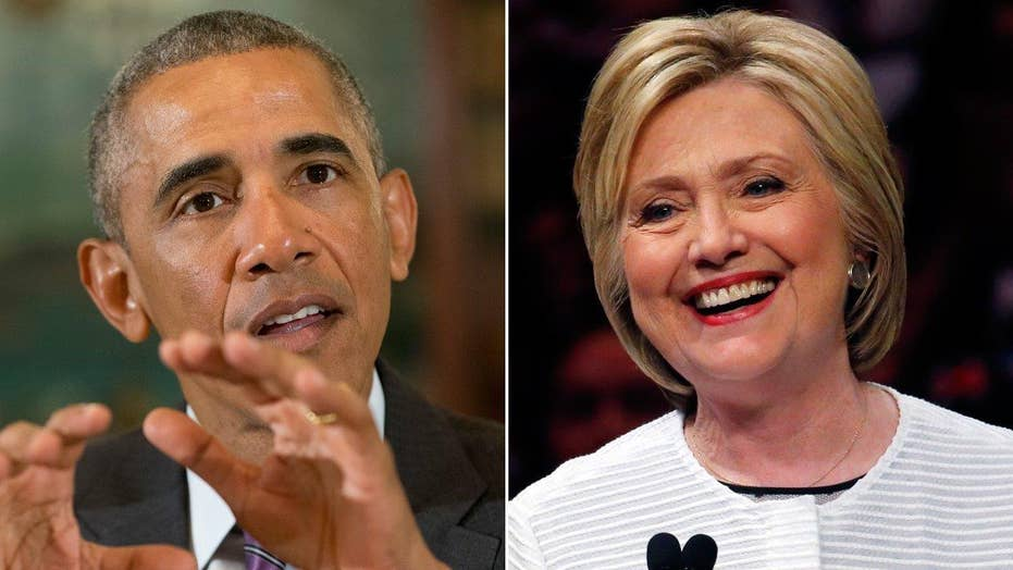 President Obama endorses Hillary Clinton