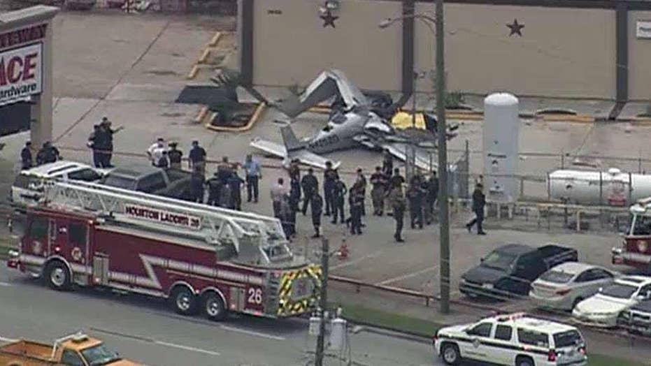 Fatal plane near Houston's Hobby Airport