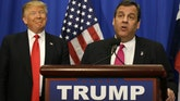 Donald Trump supporter Gov. Chris Christie challenges Republicans who are not supporting - or fully backing - the presumptive GOP nominee
