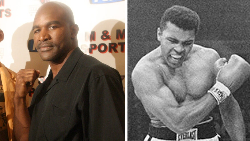 Former heavyweight boxing champ remembers being motivated by Ali as a young child on 'Happening Now'