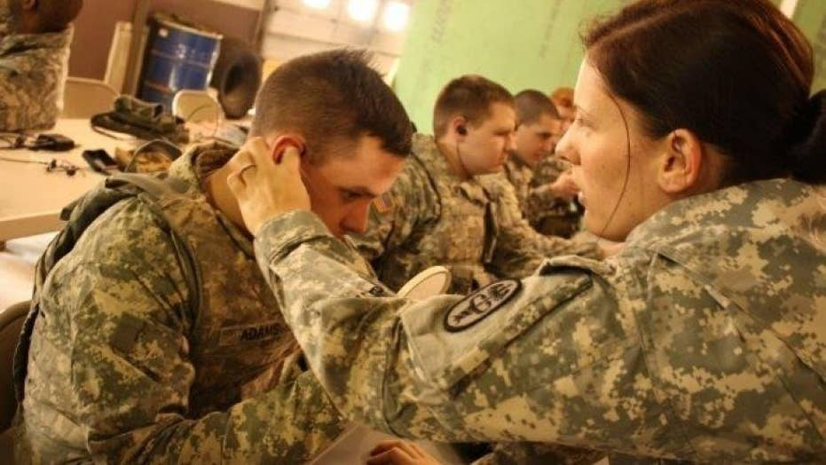 Army deploys high-tech earbuds to protect soldiers' hearing
