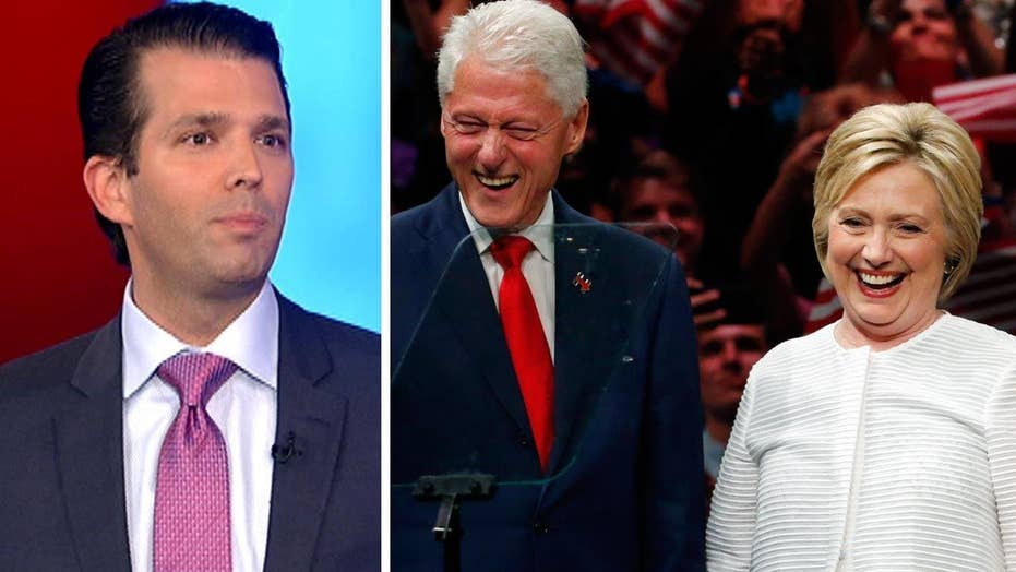 Trump Jr. on the Clintons: Americans see the phoniness