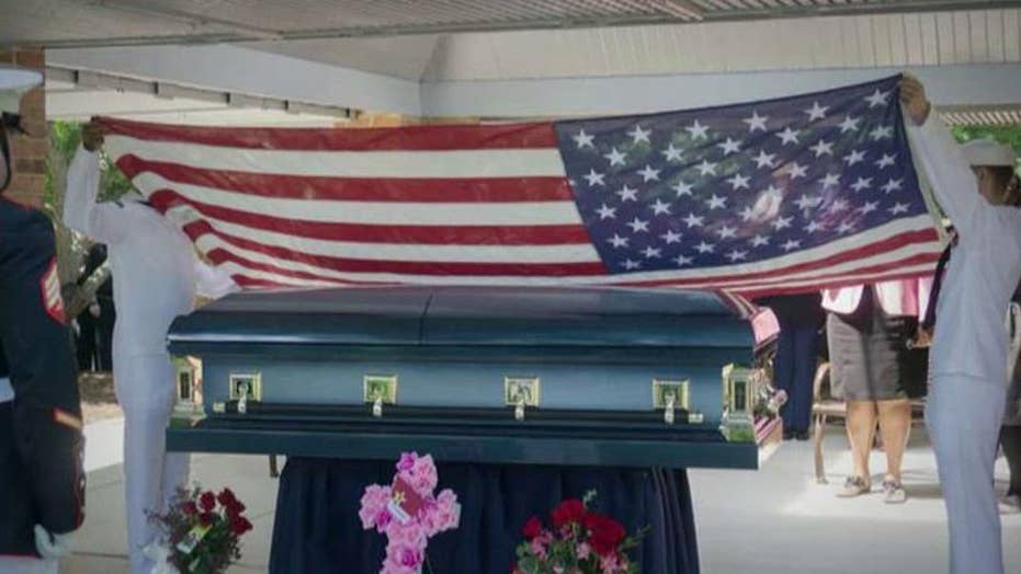 200 attend funeral for veteran with no known relatives