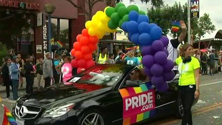 Man arrested with guns, explosives near LA gay pride parade