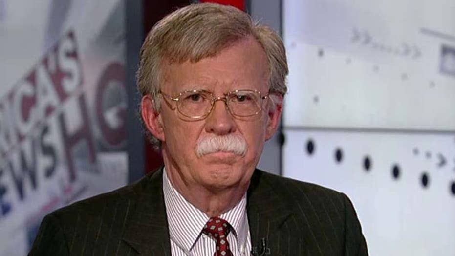 Amb. Bolton: This is war, not law enforcement
