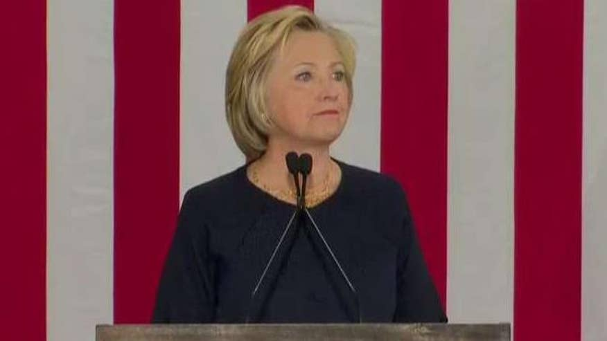Presumptive Democratic presidential nominee lays out her counter-terrorism strategy