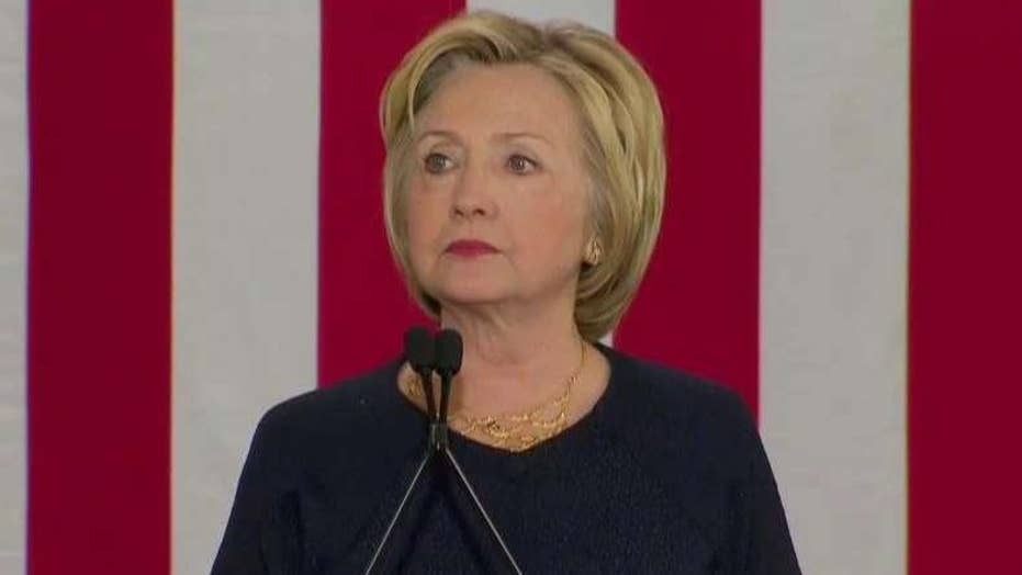 Clinton: Weapons of war have no place on our streets