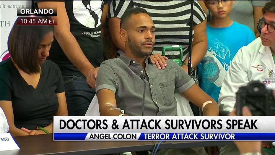 Survivor recalls the night of the shooting