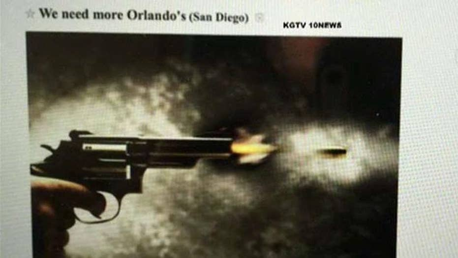 Chilling threat against LGBT community in San Diego