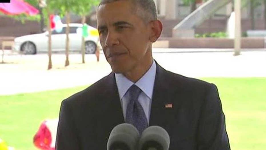 President Obama: Orlando shaken by an evil, hateful act