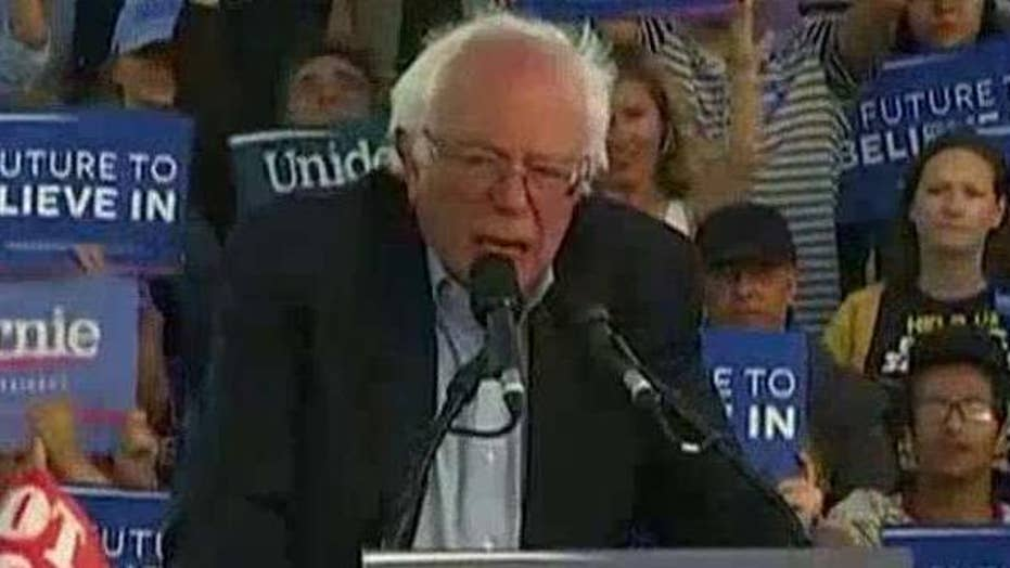 What is on Bernie Sanders' political wish list?