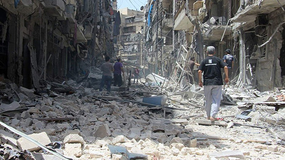 US officials call for airstrikes against Syria's Assad