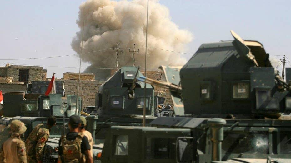 Iraqi forces seize center of Fallujah