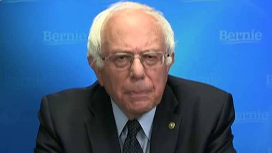 Sanders pledges cooperation with Clinton against Trump
