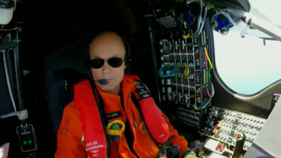 Solar Impulse 2 pilot describes epic journey above Atlantic