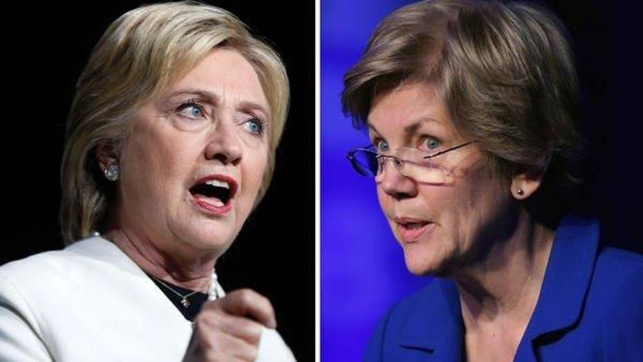 Report: Key Democratic donors wary of Clinton-Warren ticket