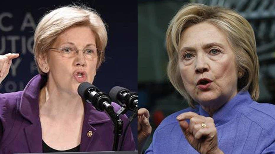 Wall Street donors threaten to dump Clinton over Warren
