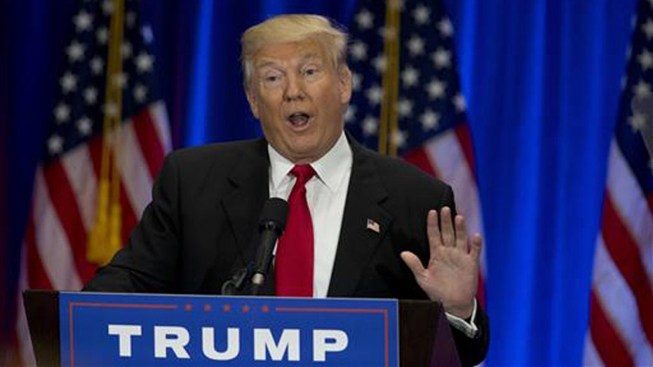 Donald Trump hammers Hillary Clinton's record and ethics